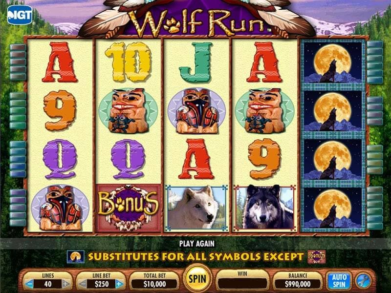 Wolf Run Slots - Play Online and Get Big Win
