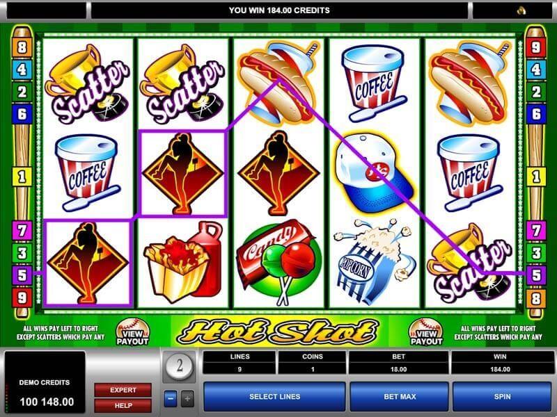 Hot Shot Casino Slot Review
