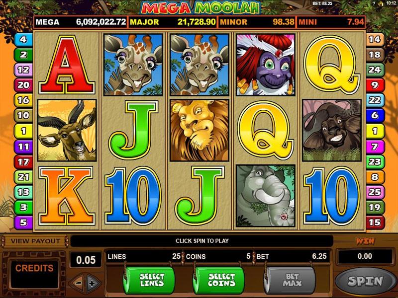 Mega Moolah Slot Review